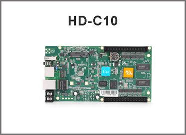 Regolatore precipitante a cascata asincrono di colore pieno del porto della carta di controllo di HD-C10 rgb controller/USB