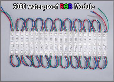 I moduels multicolori del modulo di RGB LED di alta qualità 5050 impermeabilizzano l'illuminazione del segno illuminata pubblicità all'aperto