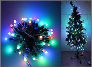 decorazione indirizzabile digitale dell'albero di Natale della corda LED del partito di 5V dei pixel Fullcolor della luce 50PCS 1903IC RGB 12mm