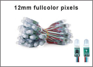 12mm 1903 ha condotto i cartelloni pubblicitari colorchanging leggeri fullcolor di RGB LED della luce dello streep del pixel