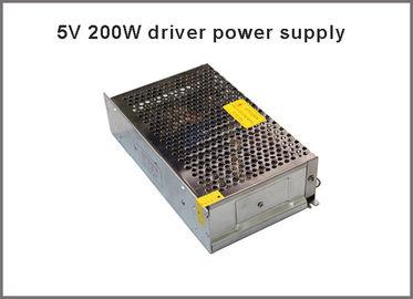 alimentazione elettrica di commutazione di 5V 40A 200W per CA della luce di striscia del LED ai transfermers di CC LED